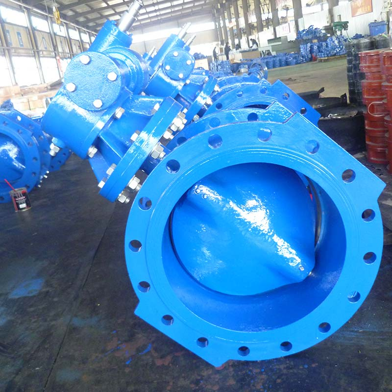 Double Eccentric Butterfly Valve Production