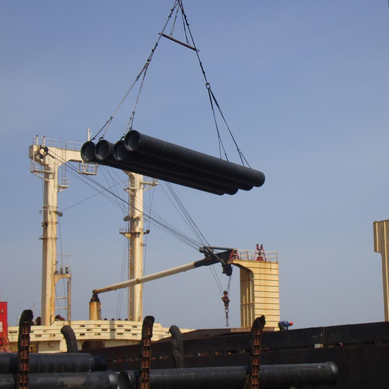 Lifting of Ductile Iron Pipe