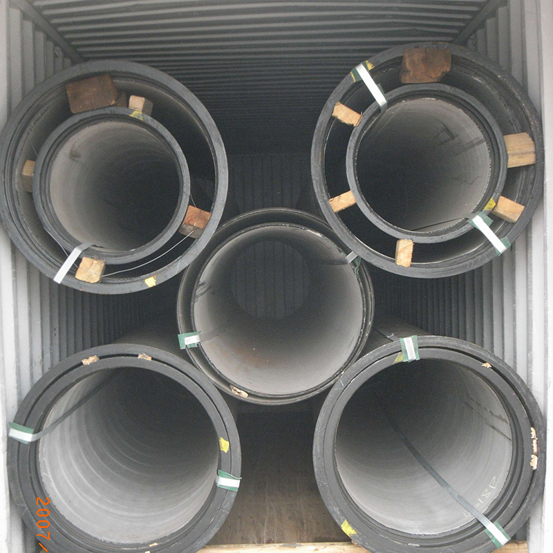Nest Packing of Ductile Iron Pipe