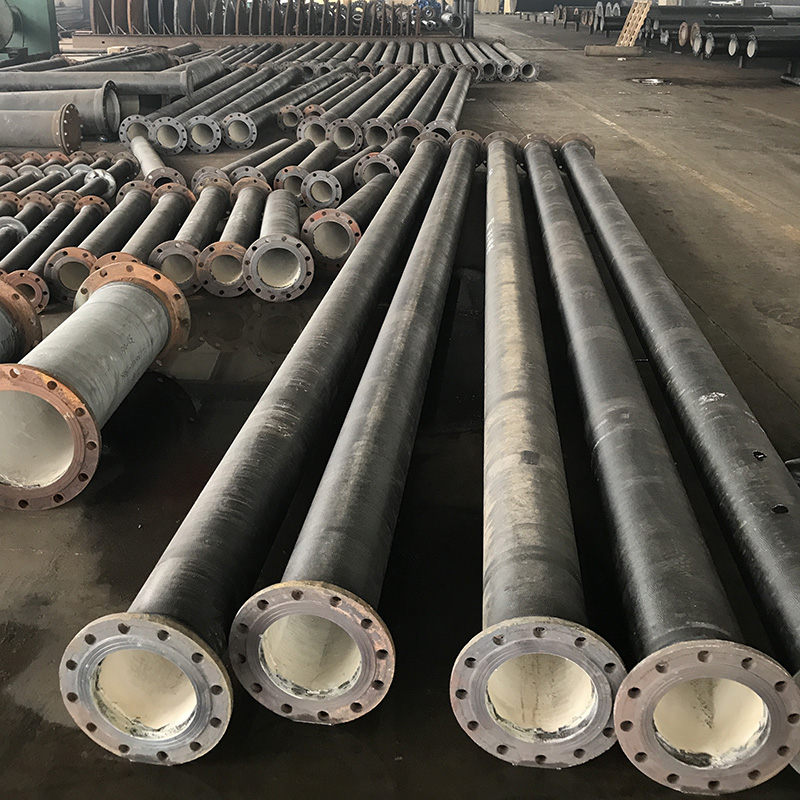 Double Flanged Pipe