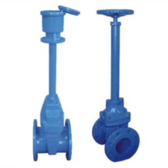 Underground Gate Valve with Extension Spindle